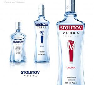 Водка Stoletov