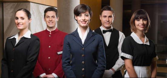 униформа персонала ресторана