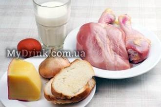 Куриные котлеты с сыром 2