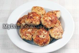 Куриные котлеты с сыром 4