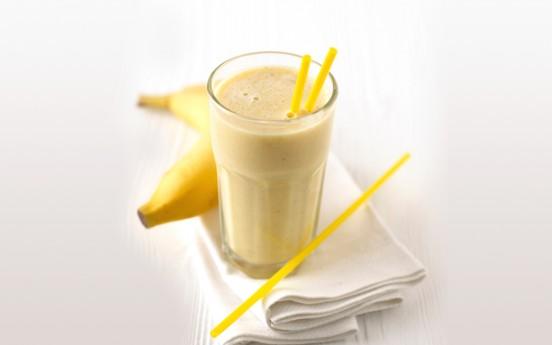 Молочный коктейль банановый